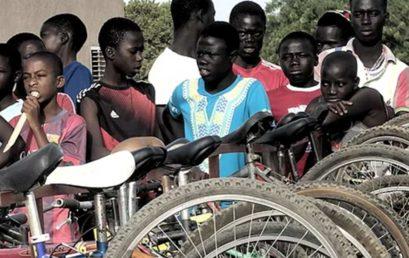 Bicicletes per l'educació